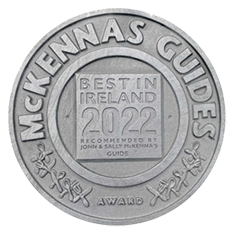 Logo for Georgina Campbell 2016 for The Glyde Inn and Linn Duachaill Destination Restaurant