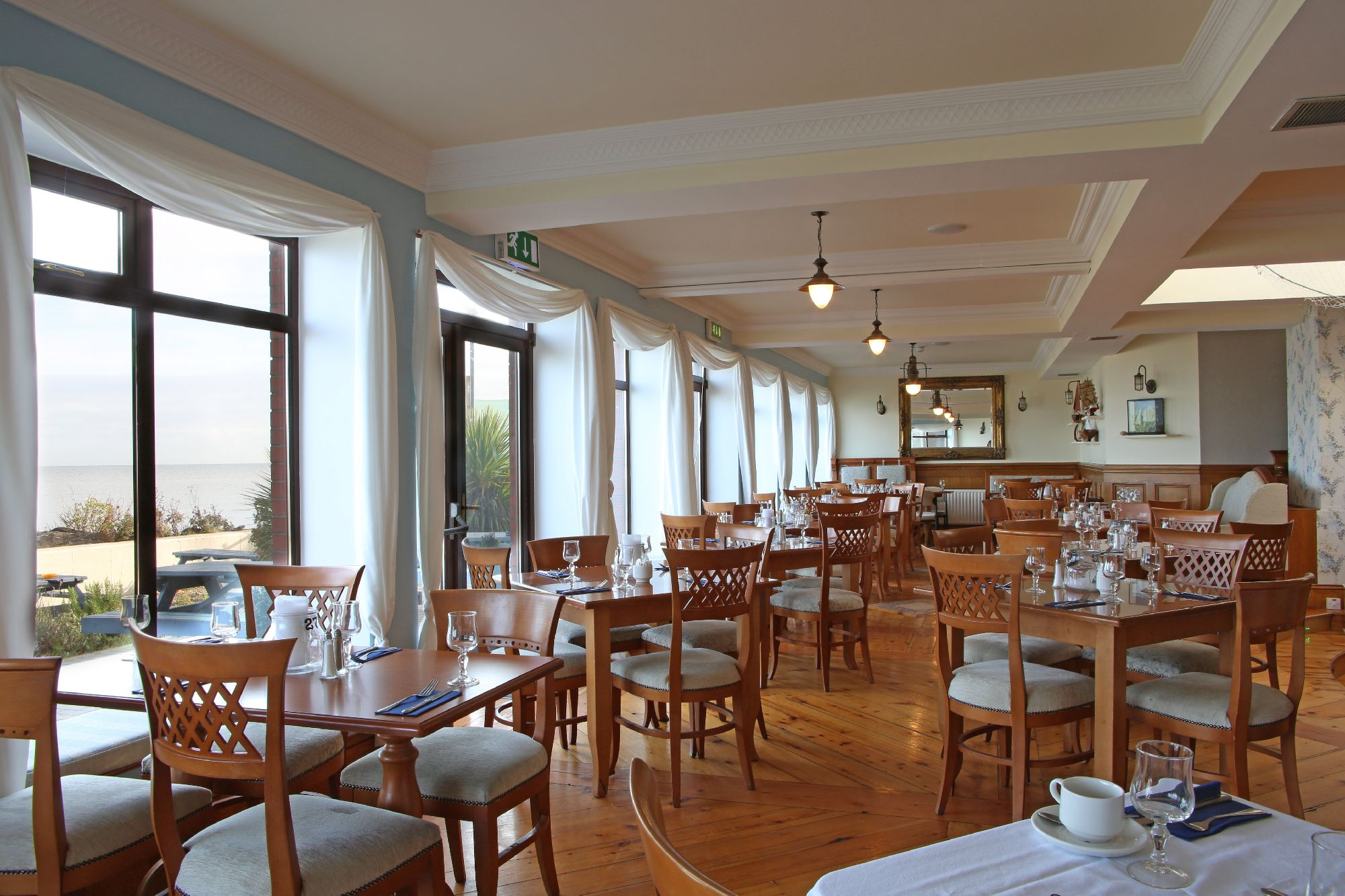 Interior of the Linn Duachaill Destination Restaurant